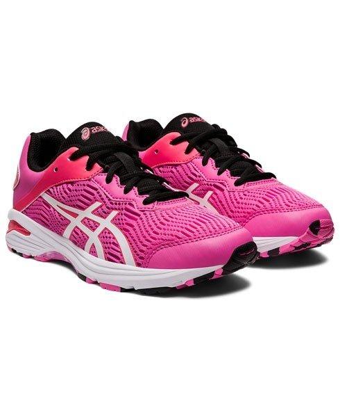 Asics Netburner Professional Junior Netball Shoes - Pink/White