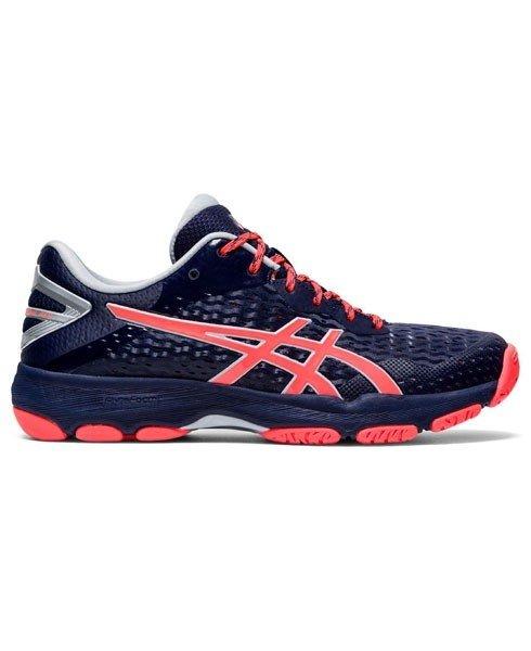 2021 Asics Netburner Professional FF 2 Netball Shoes - Navy/Coral