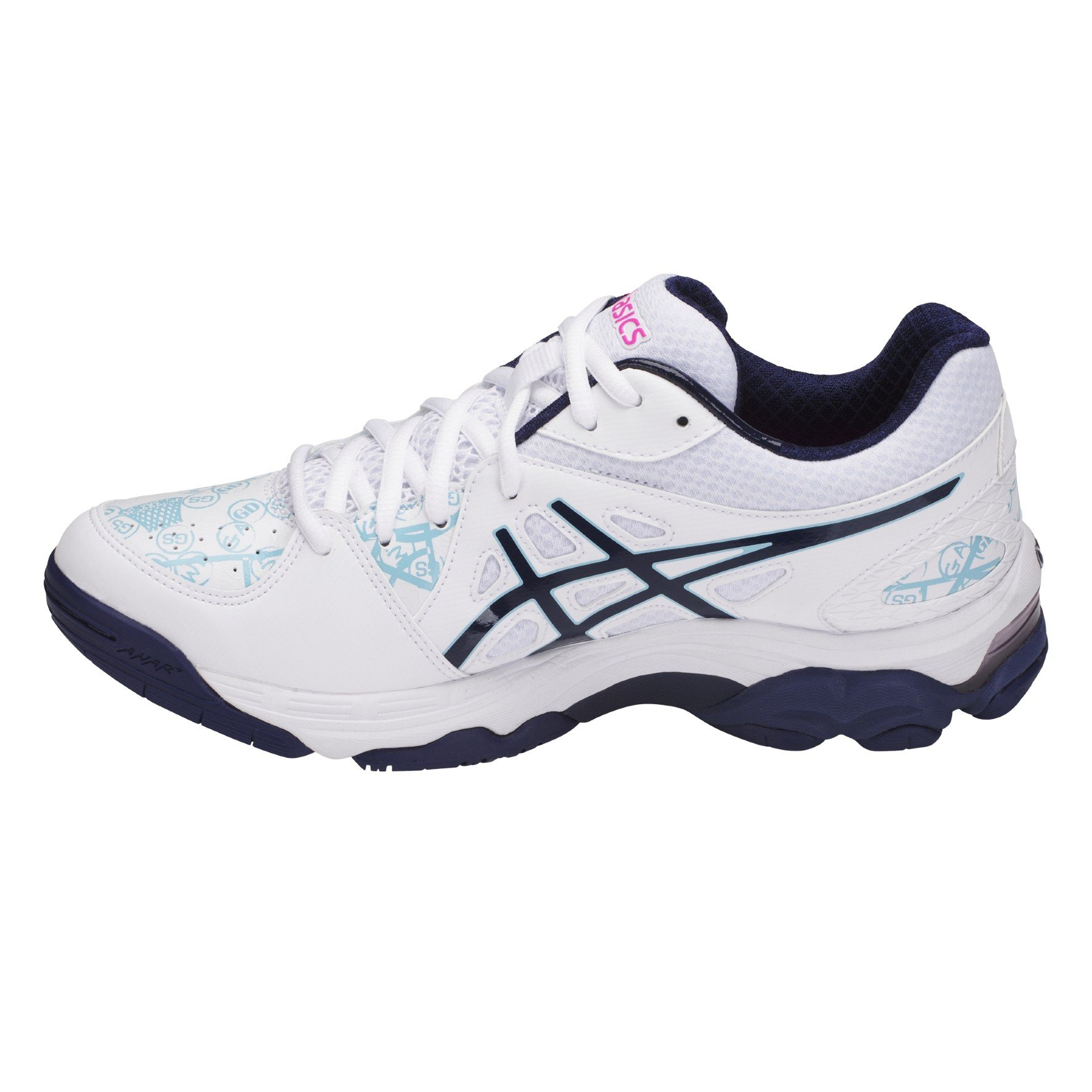 asics netball trainers size 6