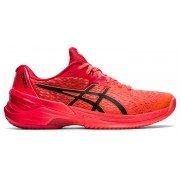2021 Asics Sky Elite FF Tokyo Netball Shoes - Sunrise Red