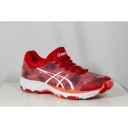 2019 Asics Gel Netburner Professional Netball Trainers Fiery Red