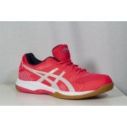2019 Asics Gel Rocket Netball Trainers Diva Pink/Grey