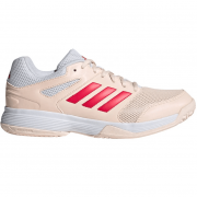 2021 Adidas SpeedCourt W Netball Shoes - Pink/Red