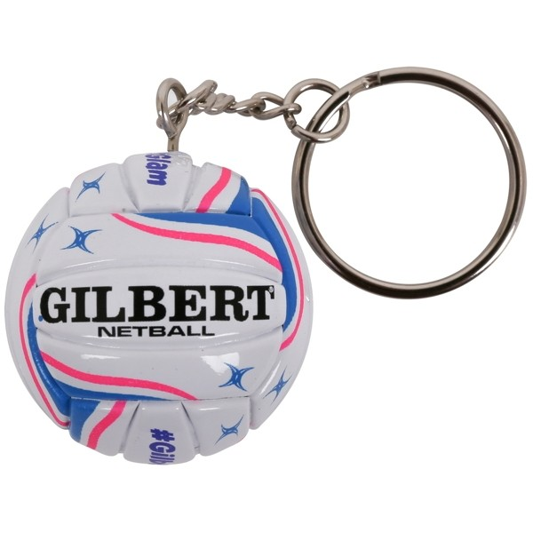 2018 Gilbert Netball Key Ring
